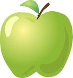 äpplet skissar Arkivfoton
