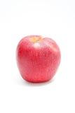 Äpplet som är rött på vit bakgrundsstil Royaltyfri Bild
