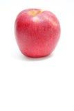 Äpplet som är rött på vit bakgrundsstil Fotografering för Bildbyråer