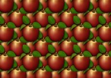 äpplet som bakgrund är kan den använda wallpaperen Arkivfoto