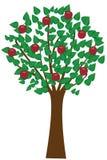 äppletree Arkivbilder