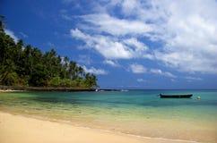 Äquator-Strand lizenzfreies stockbild