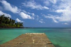 Äquator-Strand stockbilder
