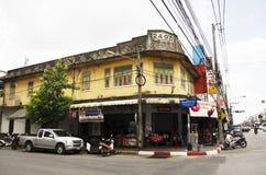 Är den gamla staden för klassisk byggnad en mycket berömd turist- destinationsnolla Royaltyfria Foton