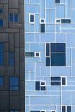 Är den utövande akademin för byggnad delen av det Wien universitetet av nationalekonomi och affären Royaltyfri Fotografi
