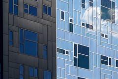 Är den utövande akademin för byggnad delen av det Wien universitetet av nationalekonomi och affären Arkivfoto