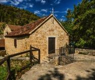 Är det gamla huset för stenen av den Krka nationalparken ett av kroaten Royaltyfri Fotografi