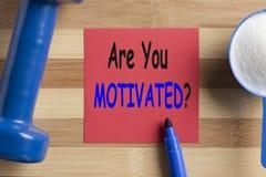 Är du det motiverade begreppet Arkivbilder