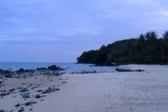 Är här stranden i Thailand royaltyfri bild