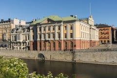 Ärftliga prinsens slott Stockholm Arkivfoton
