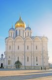 Ärkeängelkyrka i MoskvaKreml Lokal för Unesco-världsarv Fotografering för Bildbyråer