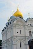 Ärkeängelkyrka kremlin moscow Lokal för Unesco-världsarv Royaltyfri Foto