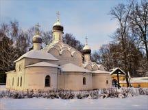 ÄrkeängelMichael kyrka Arkivbilder