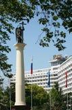 ärkeängelmichael monument till Royaltyfria Foton