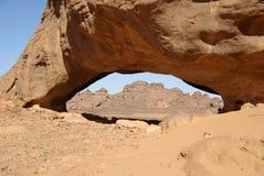 ärke- öken libya arkivfoto
