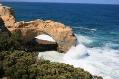 ärke- Australien stor havväg victoria Arkivfoto