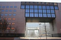 ärke- bicoccabyggnadsitaly milan vf Arkivfoto