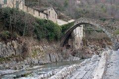 Ärke- bro, Italien Arkivfoton