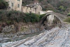 Ärke- bro, Italien Arkivbilder