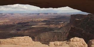ärke- canyonlandsmesa Fotografering för Bildbyråer