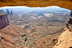 ärke- canyonlandsmesa-nationalpark Arkivbild