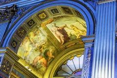 Ärke- Chiesa San Marcello al Corso Basilica Church Rome Italien Royaltyfria Bilder