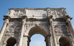 ärke- constantine rome triumf Arkivbilder