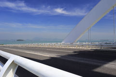 Ärke- däck för bro x Royaltyfri Fotografi