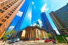 Ärke- gatapresbyterianska kyrkan i Philadelphia i PA Royaltyfri Bild