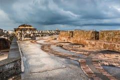 Ärke- golvmodell inre Castillo San Felipe del Morro Royaltyfria Foton