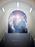 ärke- himmel till royaltyfria bilder
