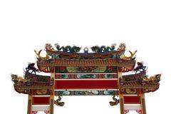 ärke- kinesiskt tempel Arkivbilder