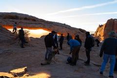 ärke- mesa-soluppgång fotografering för bildbyråer
