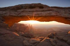 Ärke- morgon för Mesa Royaltyfria Foton