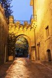 Ärke- port i San Marino Fotografering för Bildbyråer