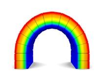 ärke- regnbåge Arkivbild
