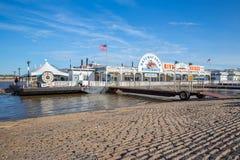 Ärke- Riverboat för nyckel Fotografering för Bildbyråer