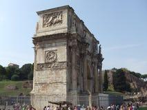 ärke- rome titus royaltyfri bild