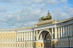 ärke- st-personal för general petersburg russia Fotografering för Bildbyråer