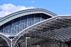 Ärke- station Arkivfoto