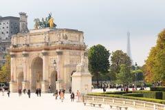Ärke- Triumph karusell Royaltyfria Bilder