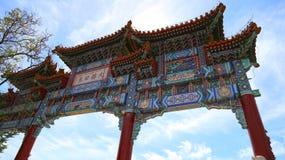 Ärke- utvändiga Forbidden City Royaltyfri Fotografi