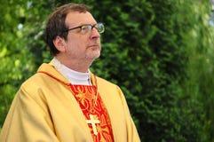 Ärkebiskop Claudio Gugerotti royaltyfria foton