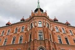 Ärkebiskop Seminary nära den Wawel slotten i Krakow, Polen arkivbilder