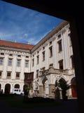Ärkebiskop slott, Krimeriz, tjeckisk republik arkivfoton