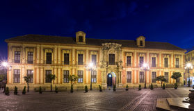 Ärkebiskop slott seville spain royaltyfria bilder