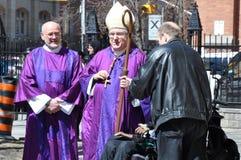 Ärkebiskop Thomas Cardinal Collins royaltyfri fotografi