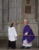 Ärkebiskop Timothy Dolan royaltyfria bilder