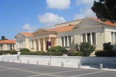 ÄrkebiskopMakarios III Lyceum i Paphos, Cypern arkivbild