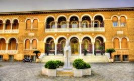 Ärkebiskops slott i Nicosia - Cypern arkivfoto